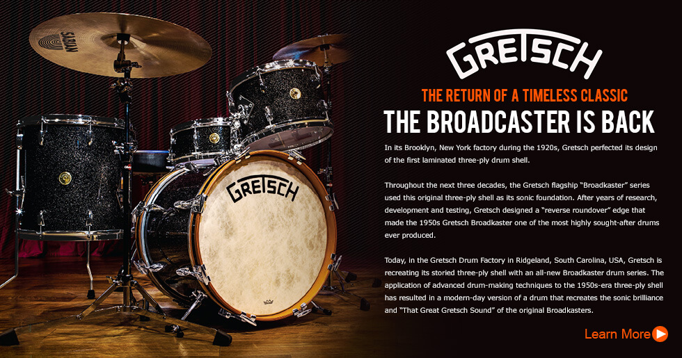 Gretsch Broadkaster Series - The Return Of A Timeless Classic