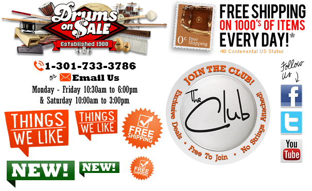 Welcome to Drums on SALE!