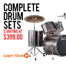 Complete Drum Sets from $399