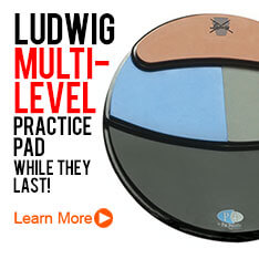 Ludwig Multi-Level Practice Pad