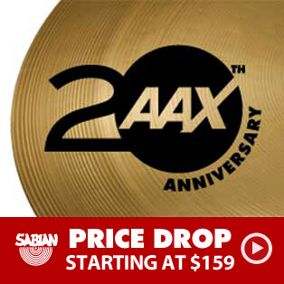 Sabian AAX 20th Anniversary Special Sale