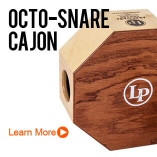 Latin Percussion Octo-Snare Cajons