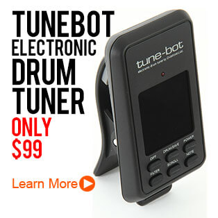 Tube-Bot Electronic Drum Tuner