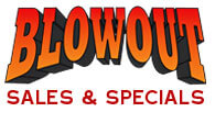 Blowout & Clearance Savings!