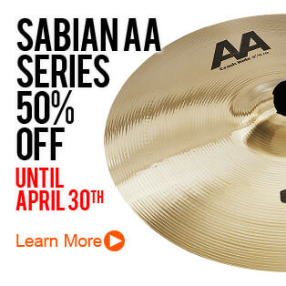 Sabian AA Series at 50% Off