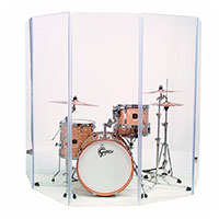 Acrylic Drum Shields