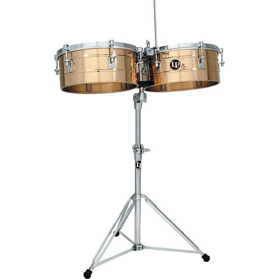lp tito puente timbales 14 15 bronze lp257 bz drums on sale. Black Bedroom Furniture Sets. Home Design Ideas