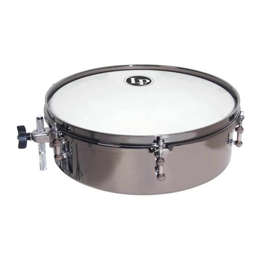 lp drum set timbales 4 x 12 black nickle lp812 bn drums on sale. Black Bedroom Furniture Sets. Home Design Ideas