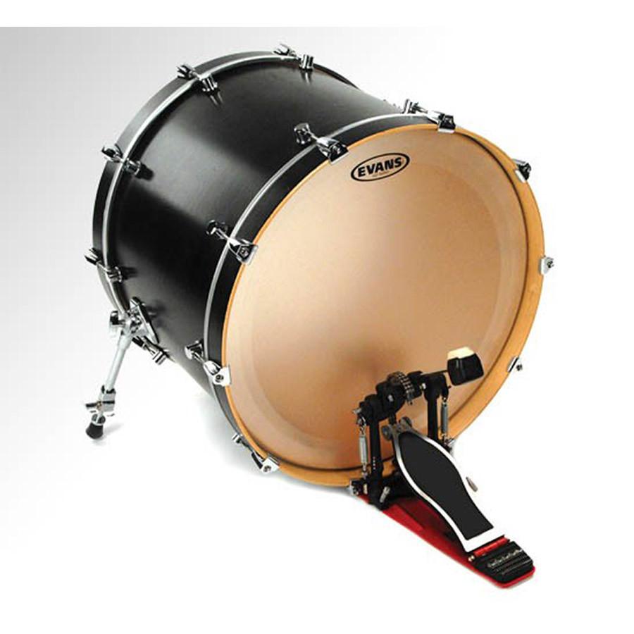 evans 24 eq1 bass drum head coated drums on sale. Black Bedroom Furniture Sets. Home Design Ideas