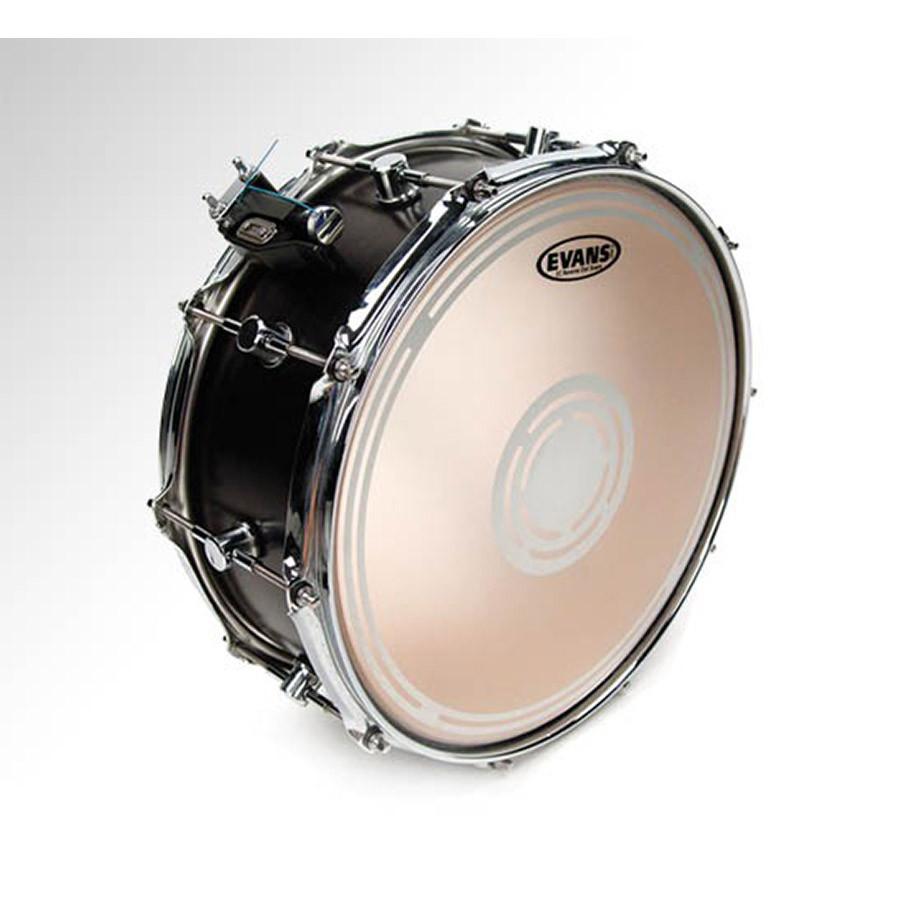 evans 13 ec2 reverse dot snare drum batter head drums on sale. Black Bedroom Furniture Sets. Home Design Ideas