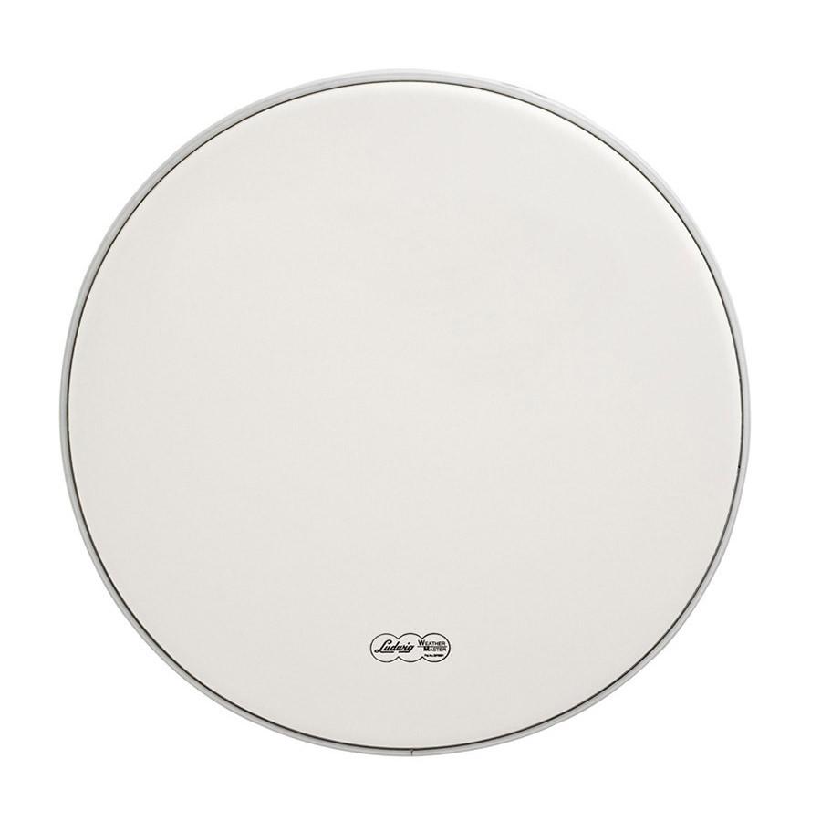 ludwig 14 drum head medium white coated drums on sale. Black Bedroom Furniture Sets. Home Design Ideas