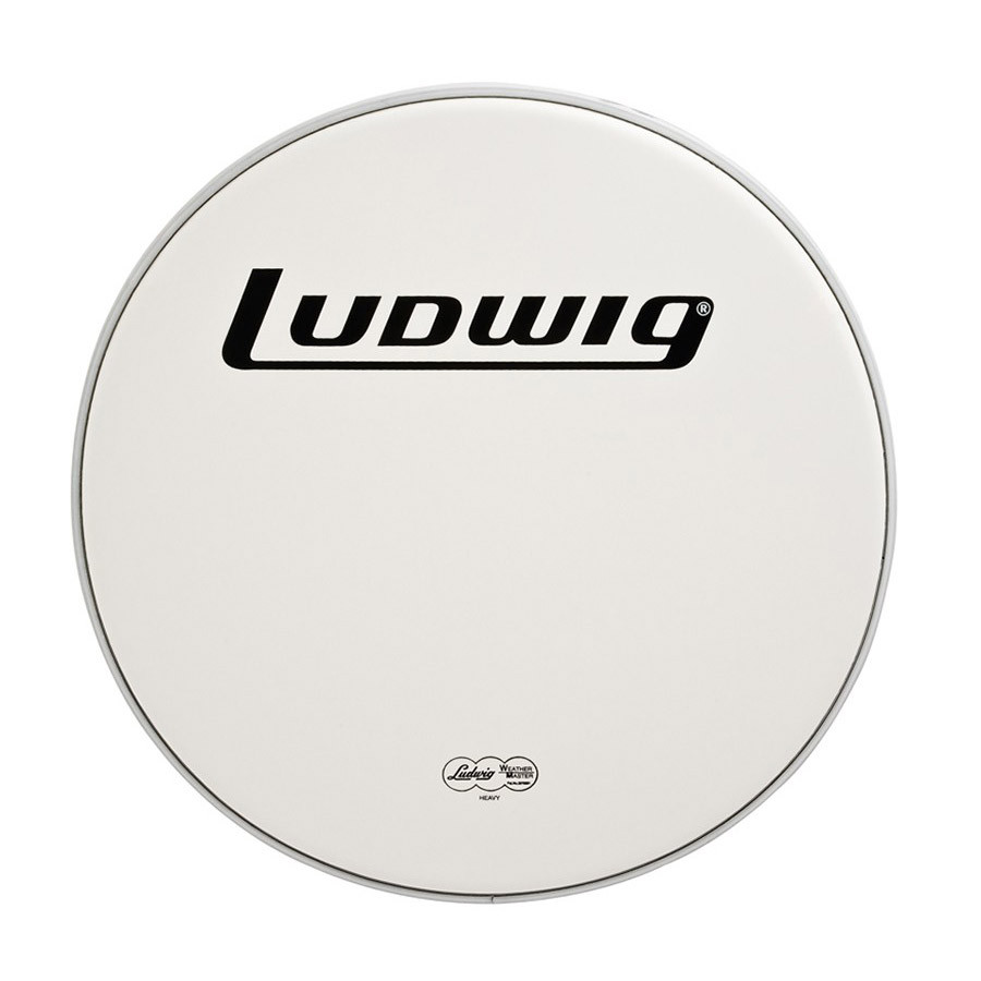 ludwig 16 bass drum head heavy smooth white drums on sale. Black Bedroom Furniture Sets. Home Design Ideas