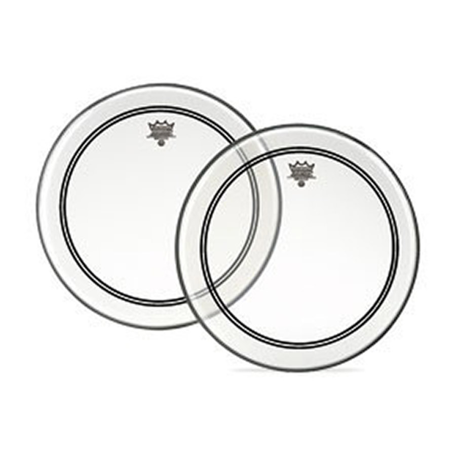 remo powerstroke 3 drum head clear clear dot 14 inch marching drum heads drum heads. Black Bedroom Furniture Sets. Home Design Ideas