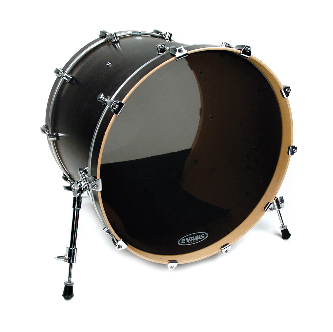 evans 22 retro screen mesh bass drum resonant head drums on sale. Black Bedroom Furniture Sets. Home Design Ideas
