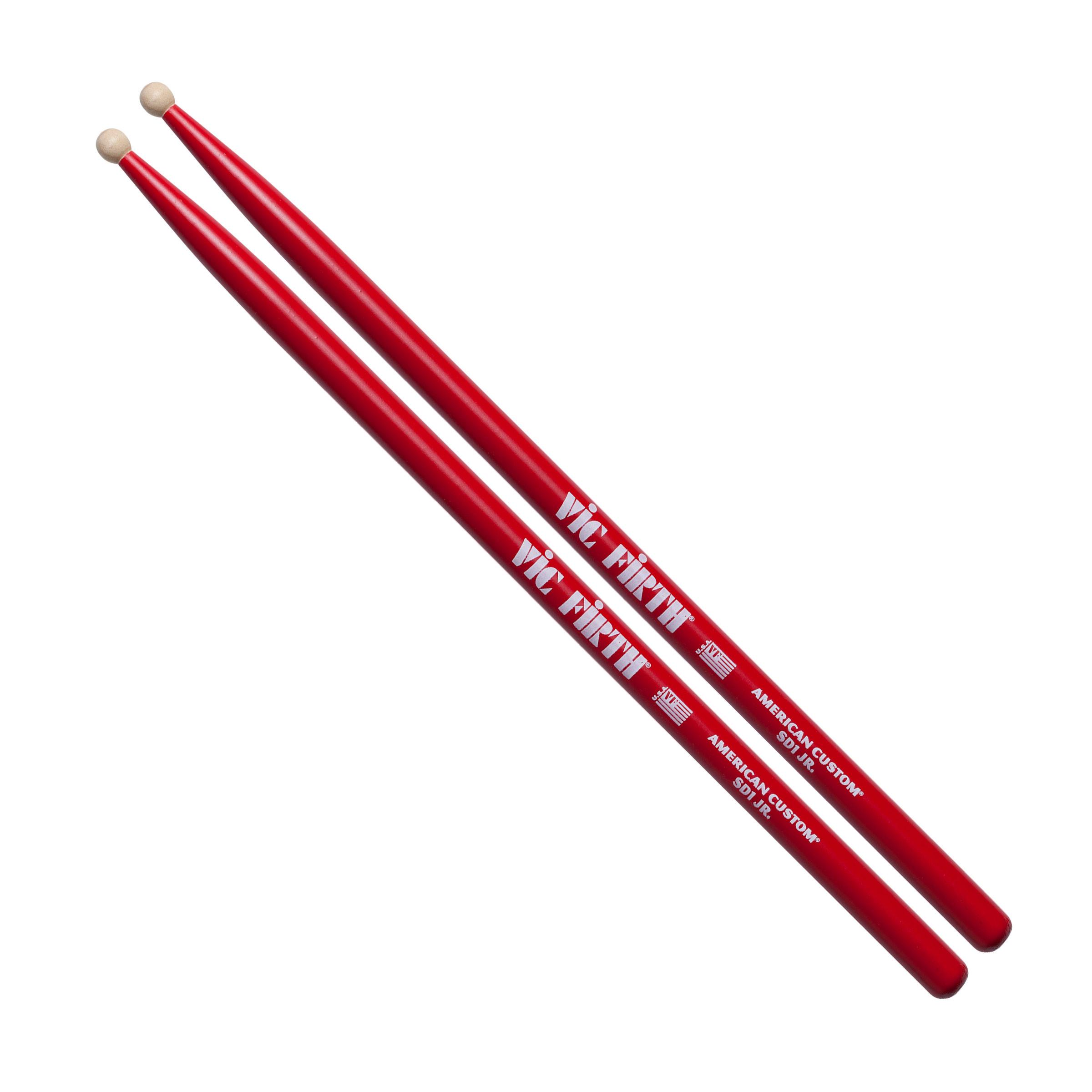 vic firth american custom sd1 jr concert snare sticks drums on sale. Black Bedroom Furniture Sets. Home Design Ideas