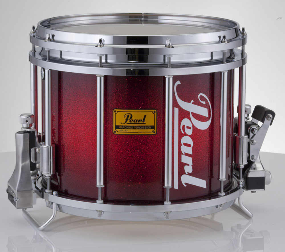 Pearl Championship Series Lacquered 14 X 12 FFX Marching Snare Drum