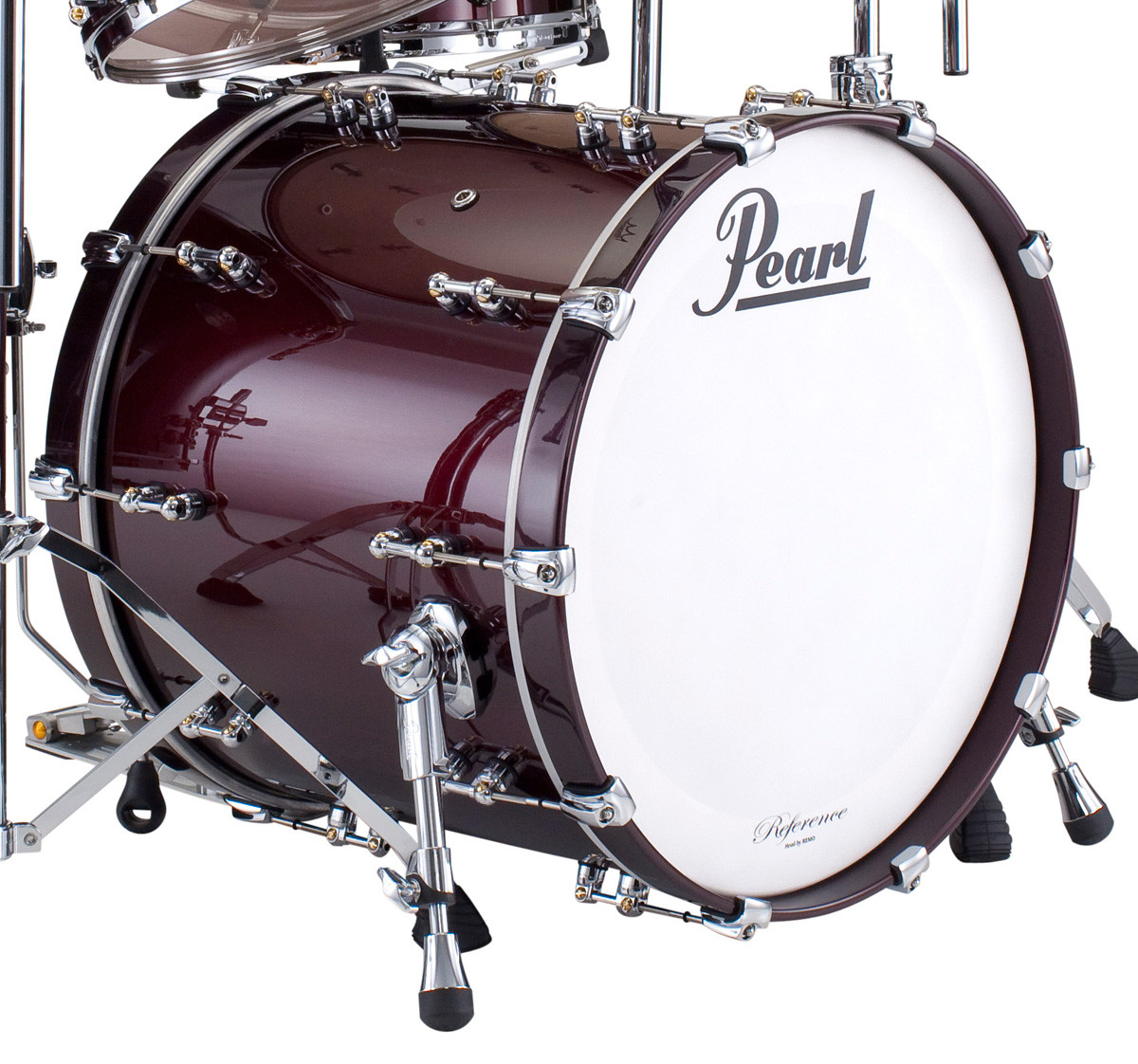 pearl reference pure series bass drum rfp bass drums on sale. Black Bedroom Furniture Sets. Home Design Ideas