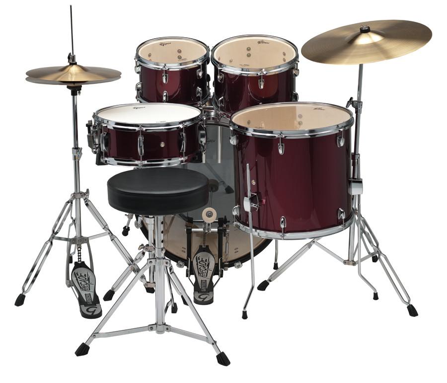 gretsch renegade complete 5pc drum set drums on sale. Black Bedroom Furniture Sets. Home Design Ideas