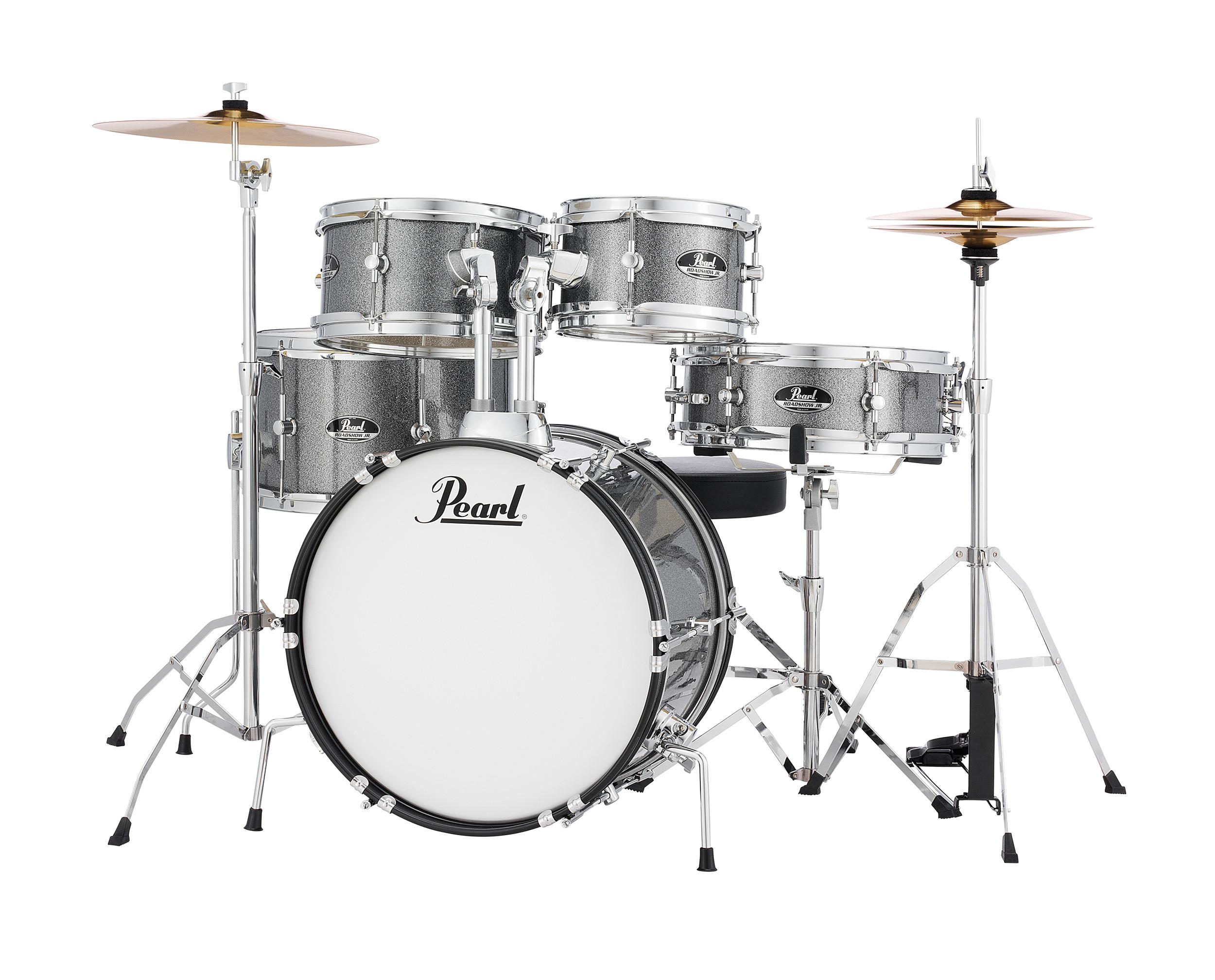pearl rsj roadshow junior 5pc complete kit drum set for kids drums on sale. Black Bedroom Furniture Sets. Home Design Ideas