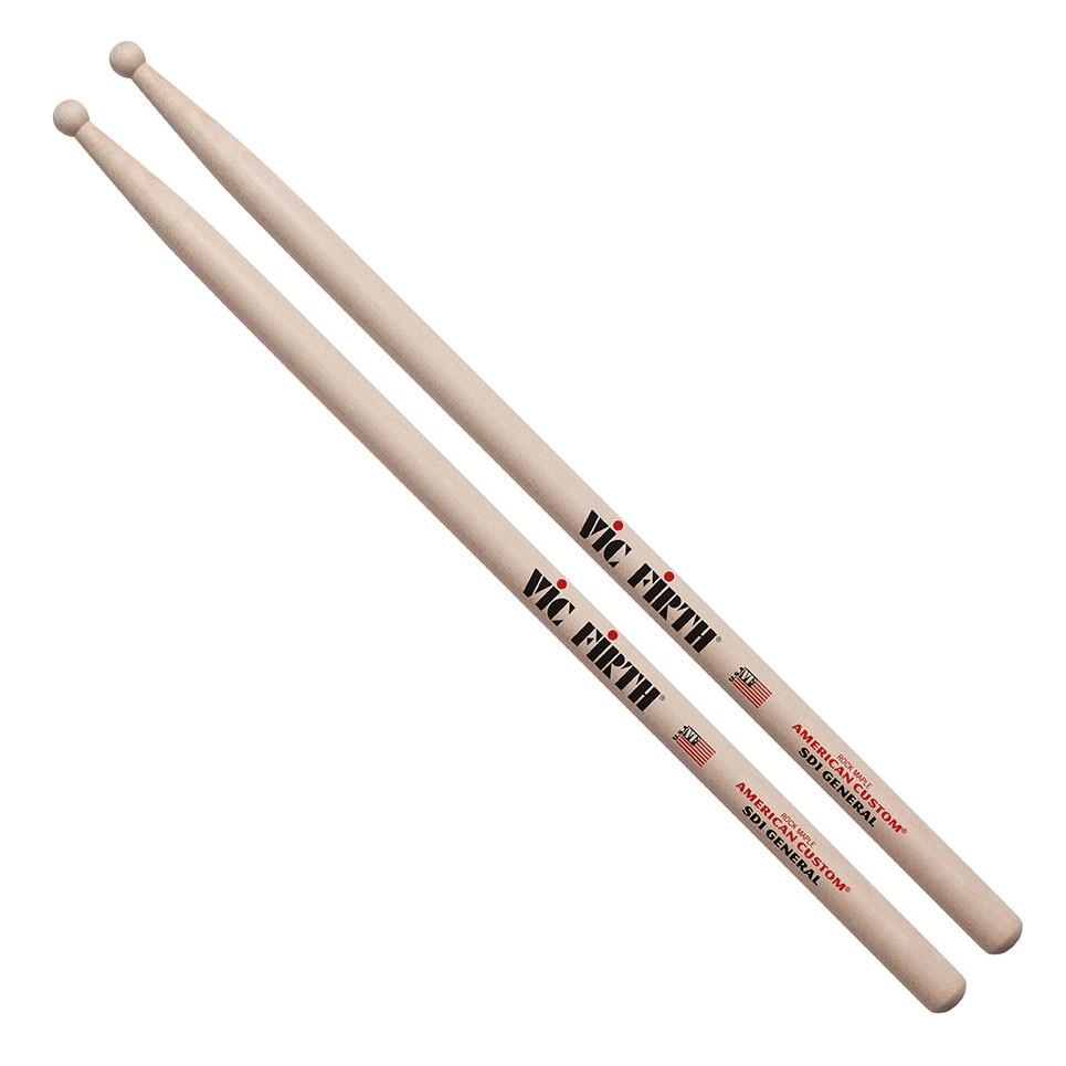 vic firth american custom sd1 general concert snare sticks drums on sale. Black Bedroom Furniture Sets. Home Design Ideas