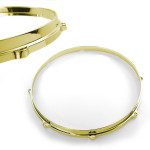"14"" Die Cast Hoop 10 Lug Snare Side - Brass Plated"