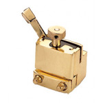 Square Snare Strainer - Brass