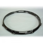 """13"""" 8 Lug 2.3MM Flanged Hoop Snare Side Black Nickel - S2313S-8B"""