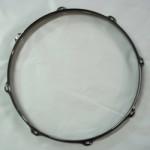 """14"""" 8 Lug 2.3MM Flanged Hoop Black Nickel - S2314-8B"""