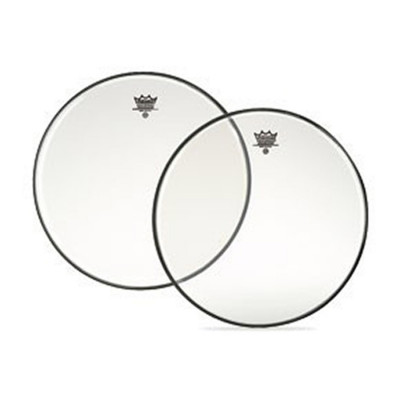 Remo AMBASSADOR Bass Drum Head - Clear 24 inch