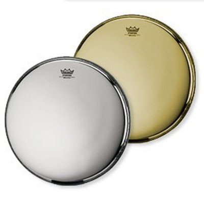 Remo Starfire Bass Drum Head - Chrome 24 inch
