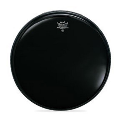 Remo AMBASSADOR Bass Drum Head - EBONY 18 inch