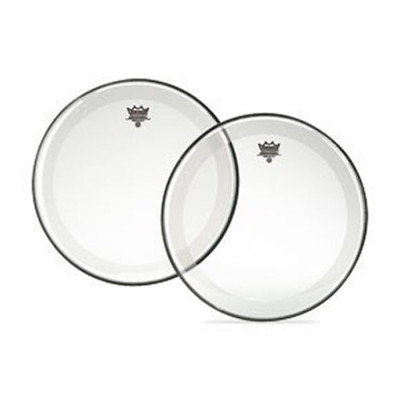 Remo POWERSTROKE 4 Bass Drum Head - Clear with FALAM Patch 24 inch