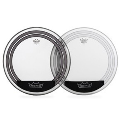 Remo POWERSONIC Bass Drum Head - Clear 20 inch