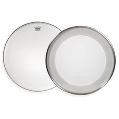Remo POWERMAX Bass Drum Head - Crimplock - Ultra White 16 inch