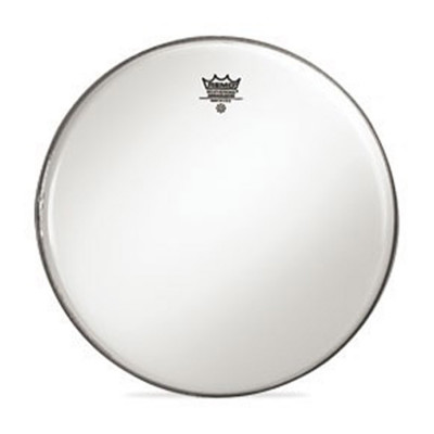 Remo AMBASSADOR Bass Drum Head - Crimplock - Smooth White 18 inch