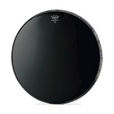 Remo AMBASSADOR Bass Drum Head - Crimplock - EBONY 22 inch