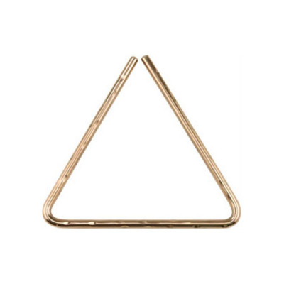 "Sabian 10"" Hand Hammered B8 Bronze Triangle - 61135-10B8H"