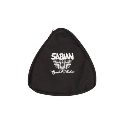 "Sabian 10"" Black Zippered Triangle Bag - 61140-10"