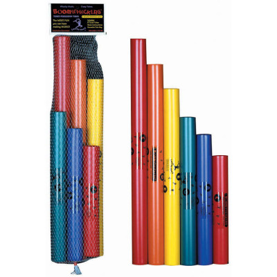 Boomwhackers C Major Pentatonic Scale - 6 Tubes