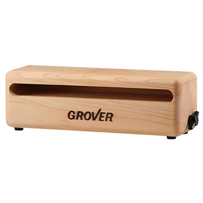"Grover WB-7 7"" Rock Maple Wood Block w/ Integrated Mount"