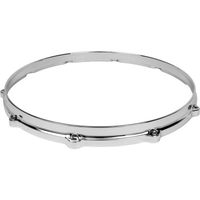 "Ludwig Die Cast 14"" 10 hole batter hoop - Chrome plated - L1410BC"
