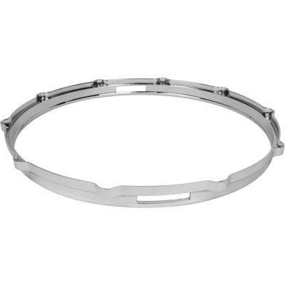 "Ludwig Die Cast 14"" 10 hole snare hoop - Chrome plated - L1410SC"