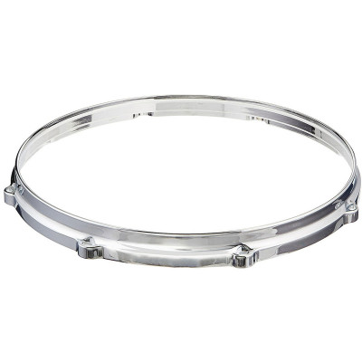 "Ludwig Die Cast 14"" 8 hole batter hoop - Chrome Plated - L1408BC"