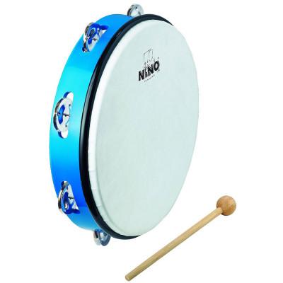 Meinl NINO ABS 10 Tambourine Blue