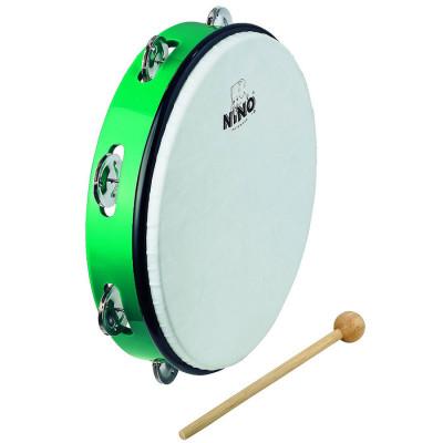 Meinl NINO ABS 10 Tambourine Green