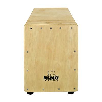 Meinl NINO Trapeze Shape Cajon Frontplate: Ruberwood Natural