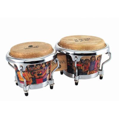 LP Mini Santana Wood Bongos - LPM200-AW