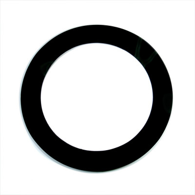 "Aquarian Port-Holes 5"" Bass Drum Hole Template Black"