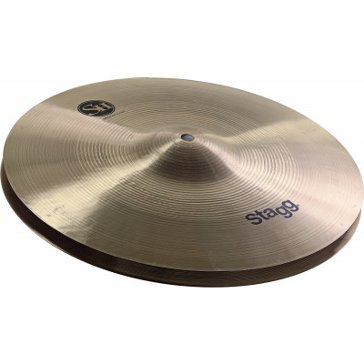 "Stagg 12"" SH Series Regular Medium HiHat - Pair - SH-HM12R"