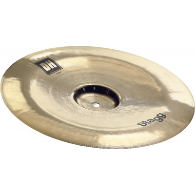 "Stagg Dual Hammered 16"" DH Brilliant China - DH-CH16B"